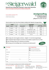 Zur Downloaddatei der Mediadaten für das Mitteilungsblatt Dietersheim