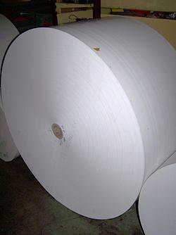Abbildung einer Offset Papierrolle
